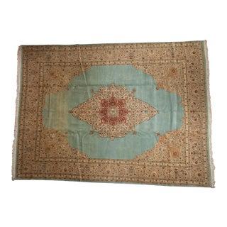 """Vintage Tabriz Carpet - 10'10"""" X 14' For Sale"""