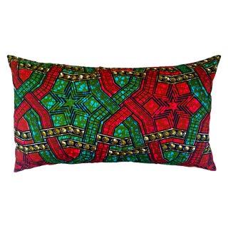 All Star African Print Lumbar Pillow Cover