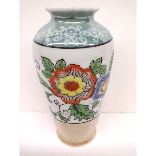 Vintage 1930s Japanese Porcelain Lusterware Vase Chairish