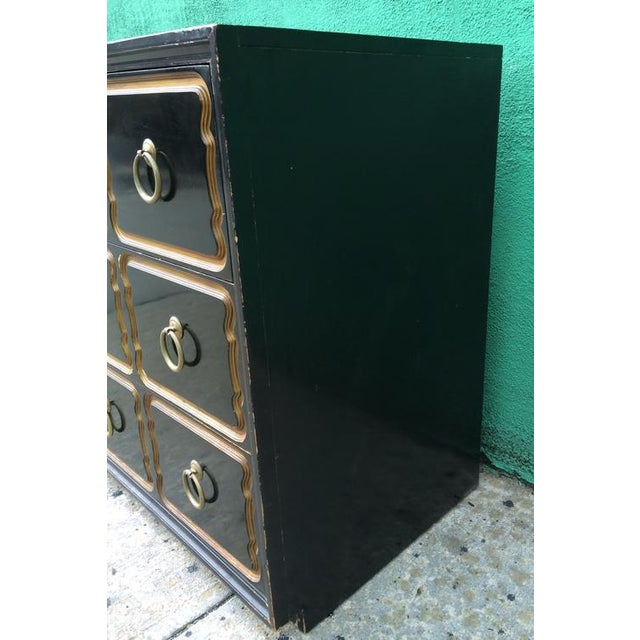 Mid-Century Modern Original Dorothy Draper Chest for Heritage For Sale - Image 3 of 8