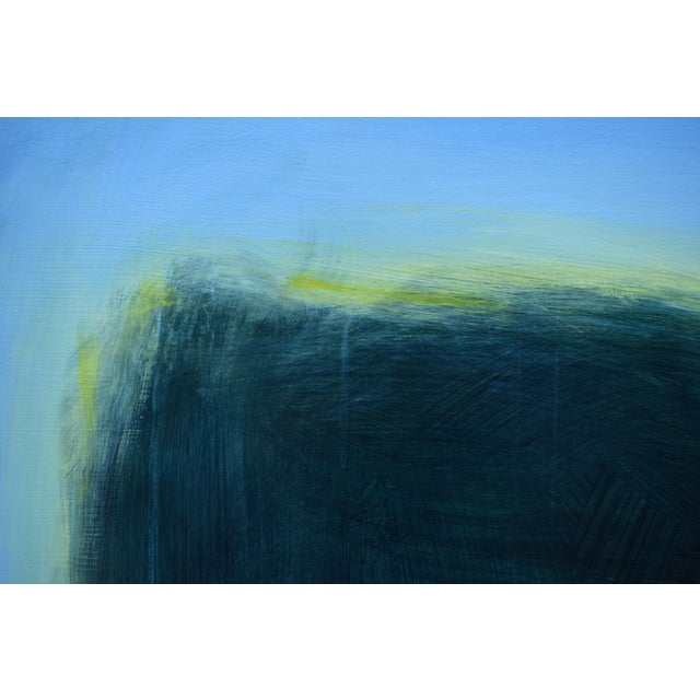 "Blue Modern ""Touch, Summer Morning"" Abstract Diptych by Stephen Remick For Sale - Image 8 of 13"