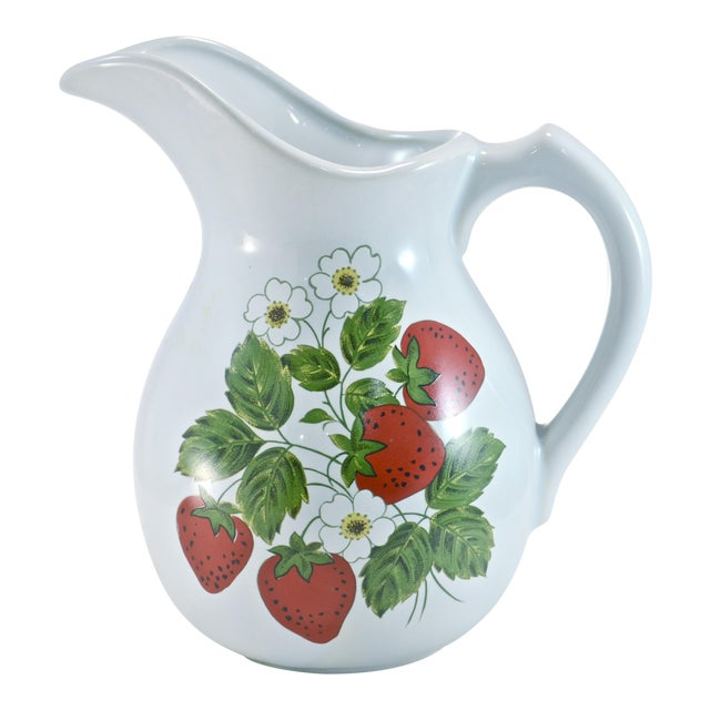 McCoy Strawberry Farmhouse Vase - Image 1 of 6
