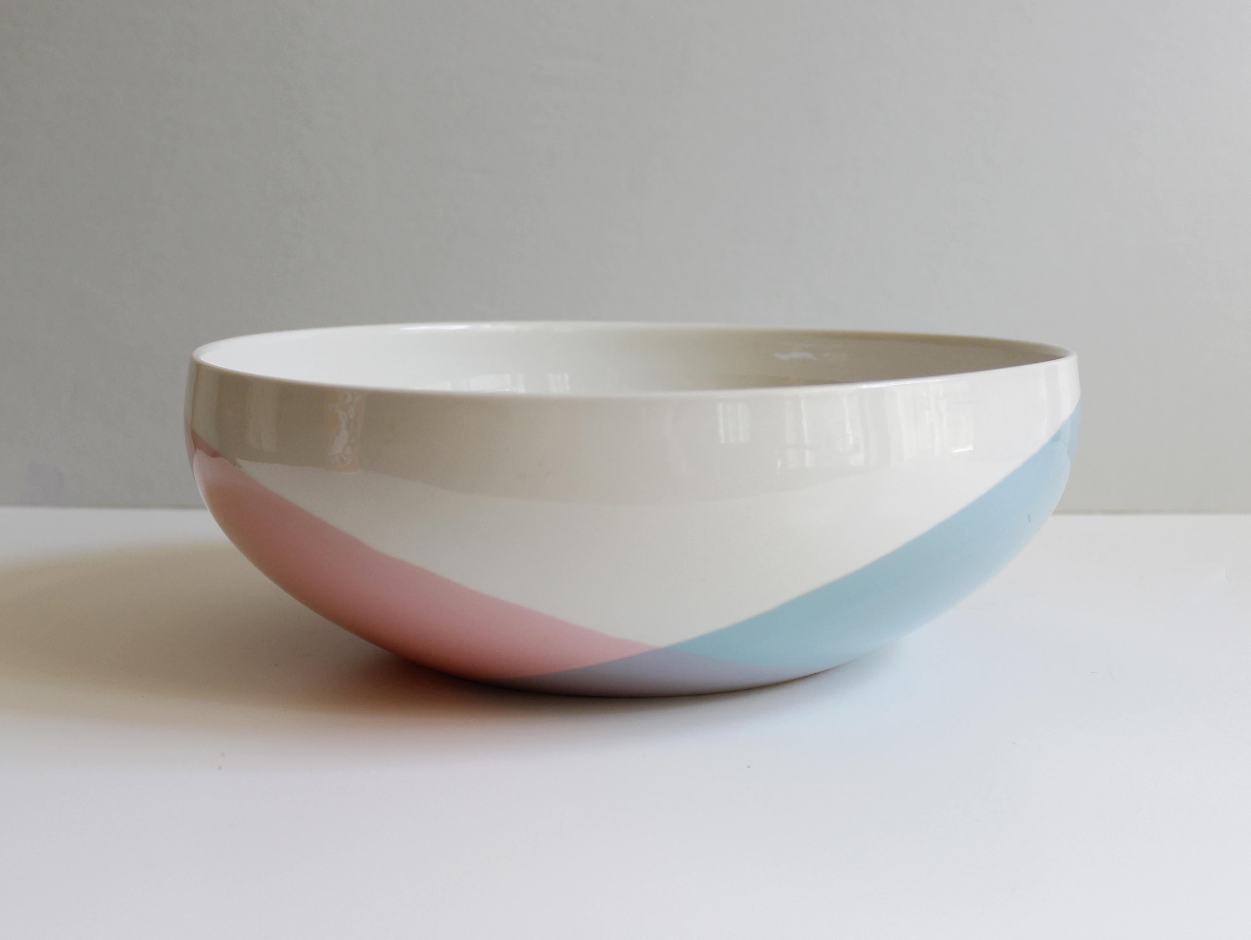 Eva Zeisel For Hall China Tritone Ceramic Serving Bowl   Image 2 Of 5