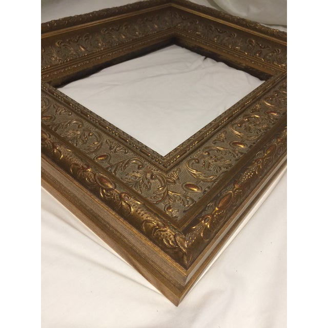 Traditional Carved Gold Gilt Frame For Sale - Image 3 of 13