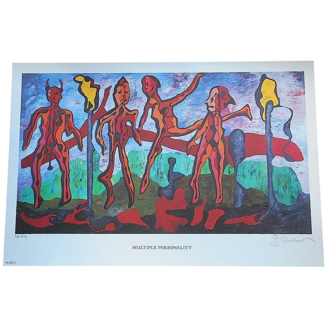Signed Limited Edition Print by George Andreas - Image 1 of 5