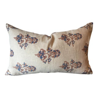 Alamwar Carnation Blue Pillow For Sale
