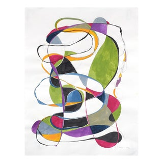 """Tracey Adams """"Balancing Act 2"""", Painting For Sale"""