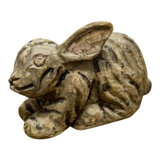 Edwardian Era Paper Mache Rabbit Carnival Prize
