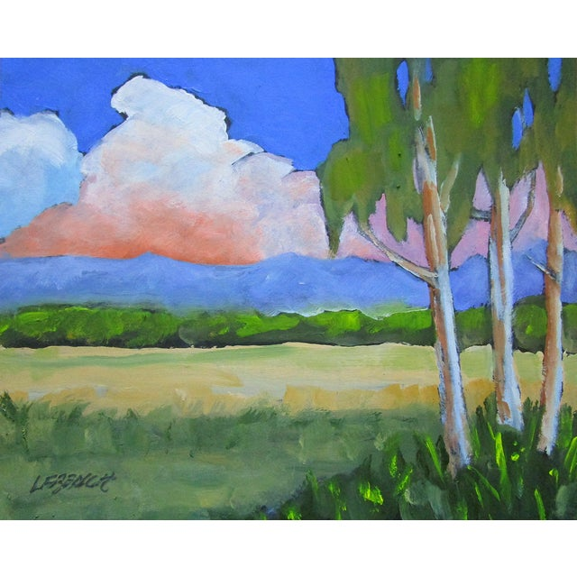 Salinas Valley California Eucalyptus Summer Clouds Landscape Lynne French For Sale