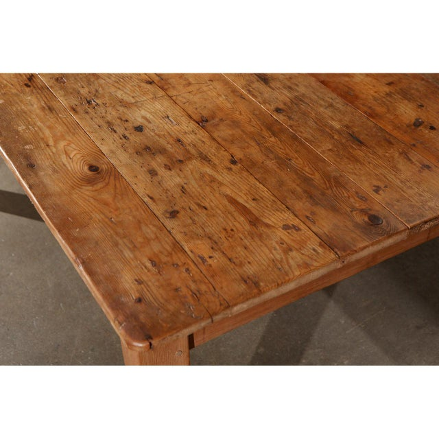 Rustic Country Pine Table For Sale In Los Angeles - Image 6 of 7