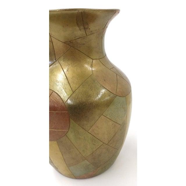 Unique Chinese Vintage Patchwork Ceramic Vase - Image 3 of 9