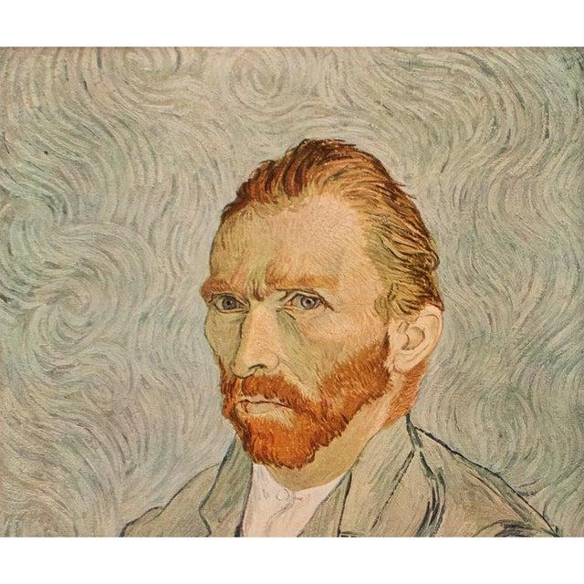 "Portraiture 1950s Vincent Van Gogh ""Self-Portrait"", Post-Impressionist First Edition Lithograph For Sale - Image 3 of 10"