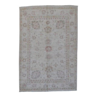 "Pakistan Oushak Rug - 4' x 5'7"" For Sale"