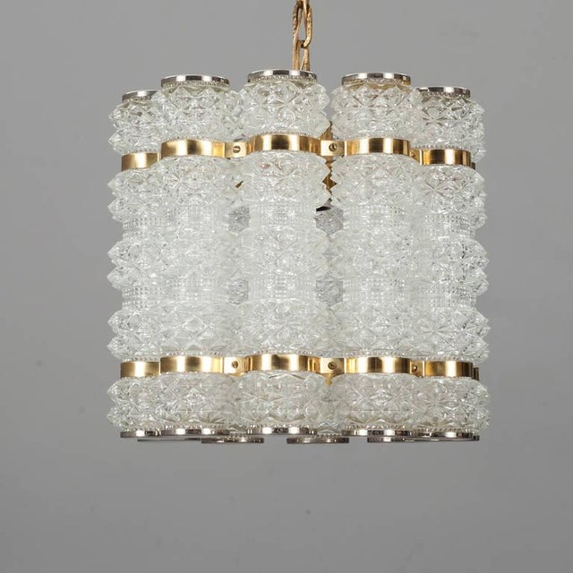 Mid-Century Modern Swedish Pendant For Sale - Image 3 of 5
