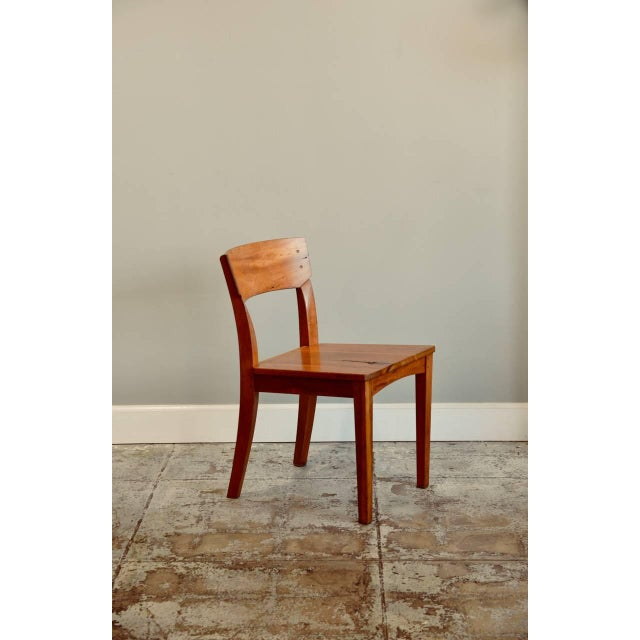 Contemporary 1990s Vintage Woodworker Studio Chairs- A Pair For Sale - Image 3 of 12