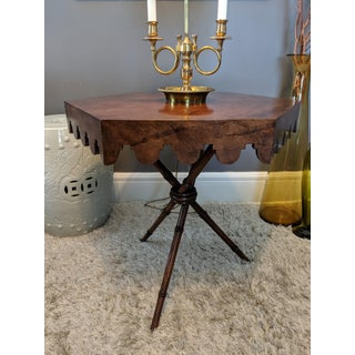 Vintage Smith & Watson Hexagonal Tripod Table Preview