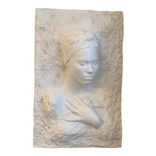 Bas Relief Figural Sculpture For Sale