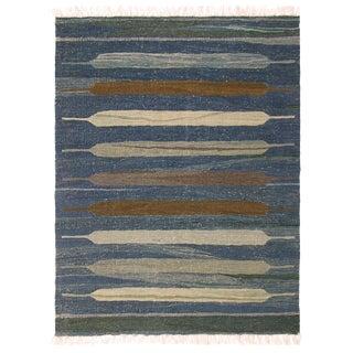 Turkish Kilim Flatweave Rug | 3'2 x 3'11