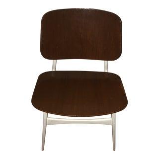 1960s Mid Century Danish Teak Bentwood Side Chair