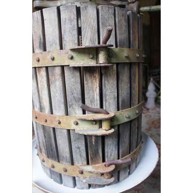 Decorative Italian Wine Press - Image 3 of 8