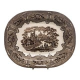 """Image of Late 19th Century Transferware Platter """"Syria Pattern"""" For Sale"""