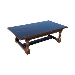 Antique English Large Primitive 2 Piece Coffee Table For Sale