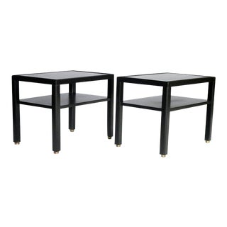Pair of Edward Wormley for Dunbar End Tables