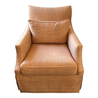 Modern Sam Moore Swivel Chair For Sale