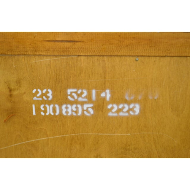 Ethan Allen Farmhouse Pine Gentlemans Tall Chest For Sale - Image 9 of 13
