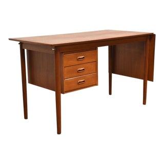 Arne Vodder Danish Modern Teak Desk For Sale