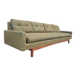 Vintage 1960s Modern Low Profile Sofa For Sale