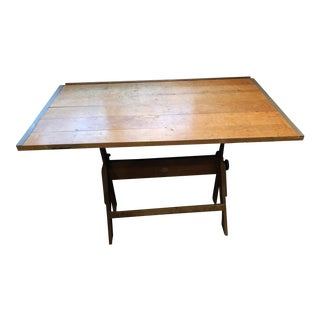 Vintage Anco Bilt Adjustable Drafting Table