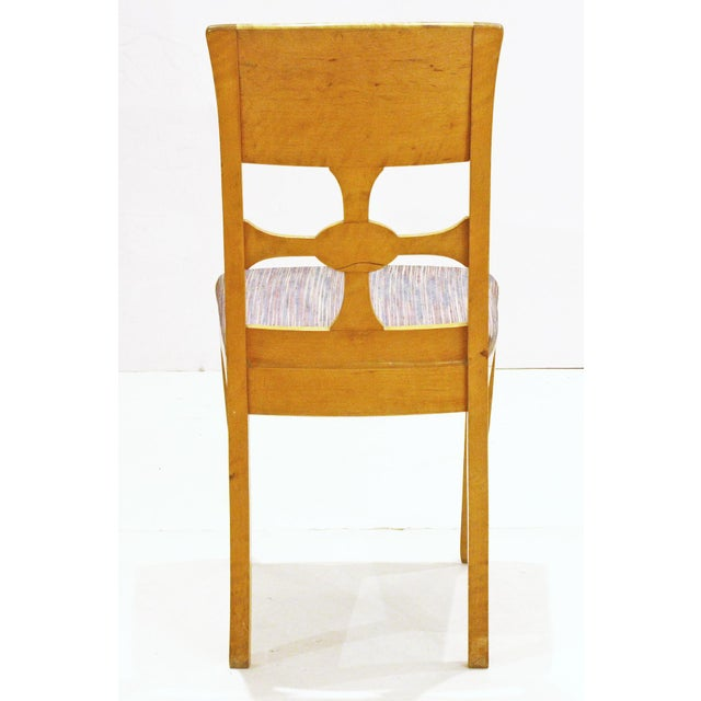 1930s Set of Six Chairs, by Anton Kjaer, Copenhagen For Sale - Image 5 of 8