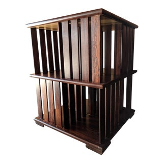 """Very Rare Mexican Modernist Don Shoemaker """"perlman"""" bookcase"""