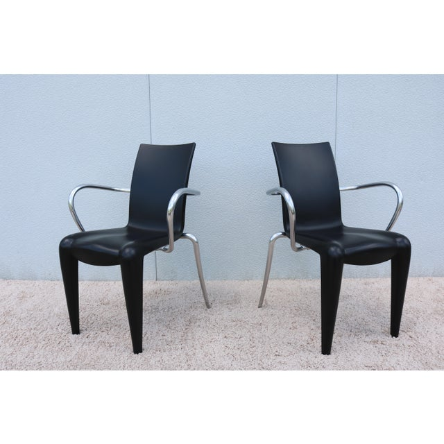 Vitra 1997 Vintage Philippe Starck for Vitra Louis 20 Armchair For Sale - Image 4 of 13