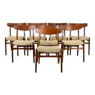 Hans J. Wegner for Carl Hansen Ch23 Dining Chairs - Set/8