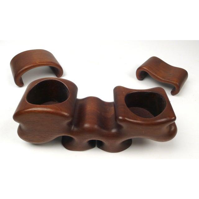 Fred Buss Black Walnut Puzzle Box For Sale In Dallas - Image 6 of 7