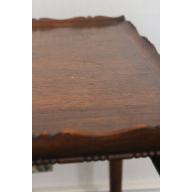 19th Century English Nesting Tables - Set of 3 For Sale - Image 12 of 13