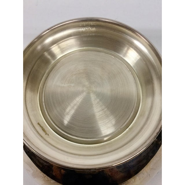 1970s 1970s Art Nouveau Sheffield Silver-Plated Revere Bowl For Sale - Image 5 of 13