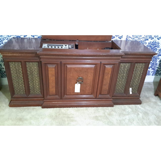 Vintage Fisher President Stereo Console For Sale - Image 5 of 6