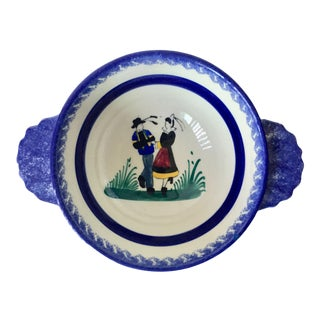 French Faience Henriot Quimper Bowl For Sale