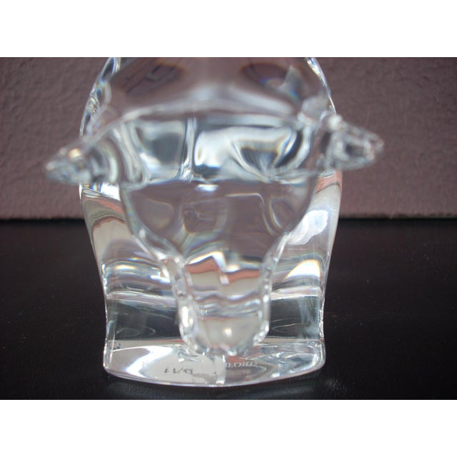 Waterford Clear Crystal Bull - Image 5 of 5