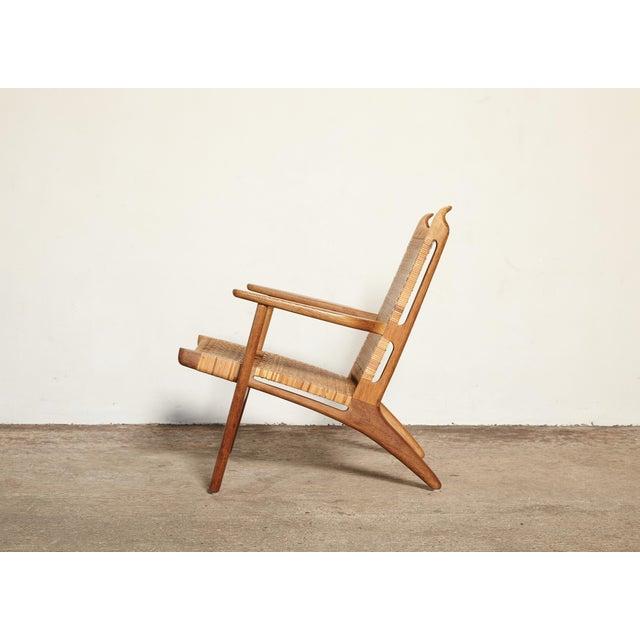 Oak Hans Wegner Ch-27 Chair, Carl Hansen & Son, Denmark, 1950s For Sale - Image 7 of 11