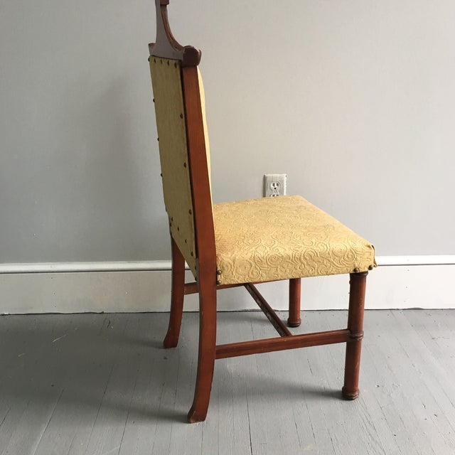 Antique Pagoda Side Chair - Image 5 of 9