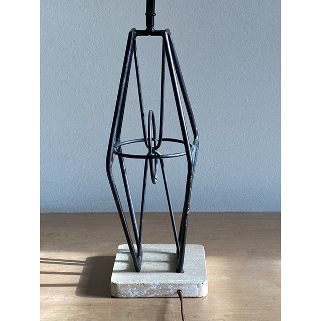 "1953 Maurizio Tempestini ""Stabile"" Lamp for Lightolier For Sale - Image 12 of 12"