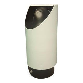 1980s Lightolier Space Age Postmodern 8535 Cylinder Tube Uplight Desk Table Lamp For Sale