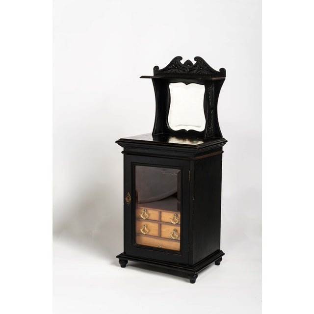 Wood Late 19th Century Smoker's Cabinet For Sale - Image 7 of 7