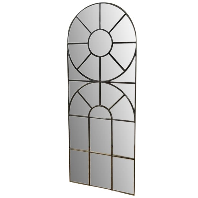 Bobo Intriguing Objects Iron Cathedral Mirror For Sale