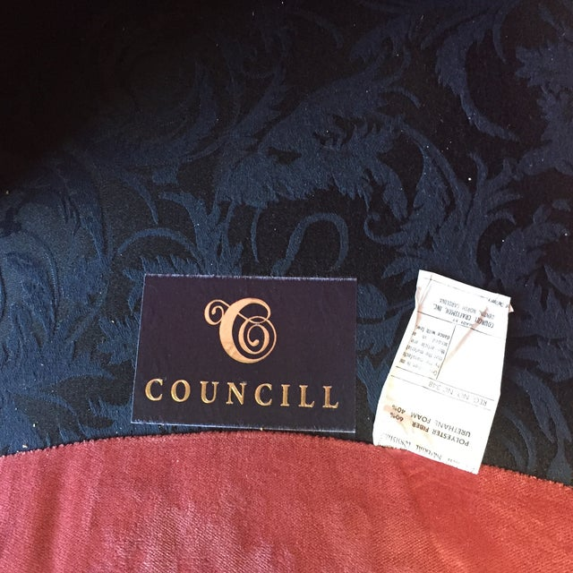 Early 21st Century Councill Craftsmen Red Chair For Sale - Image 5 of 7