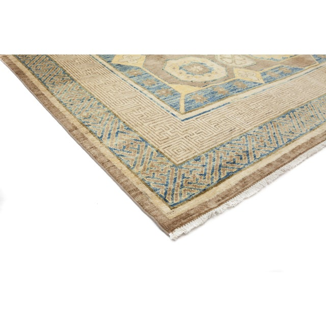 New Hand-Knotted Khotan Rug - 8′2″ × 10′2″ - Image 2 of 3